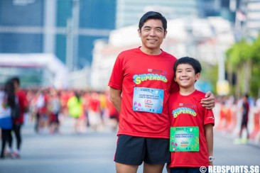 "SAFRA Singapore Bay Run: ""I only will remember that I ran with my son, hand in hand."""