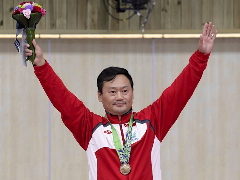 gai bin shooting asian games