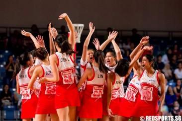 Asian Netball C'ships: Singapore retain title with 59–41 final win against Sri Lanka