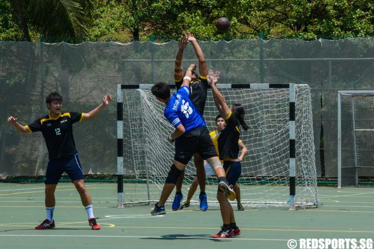 POL-ITE Handball Championships Singapore Polytechnic vs Ngee Ann Polytechnic