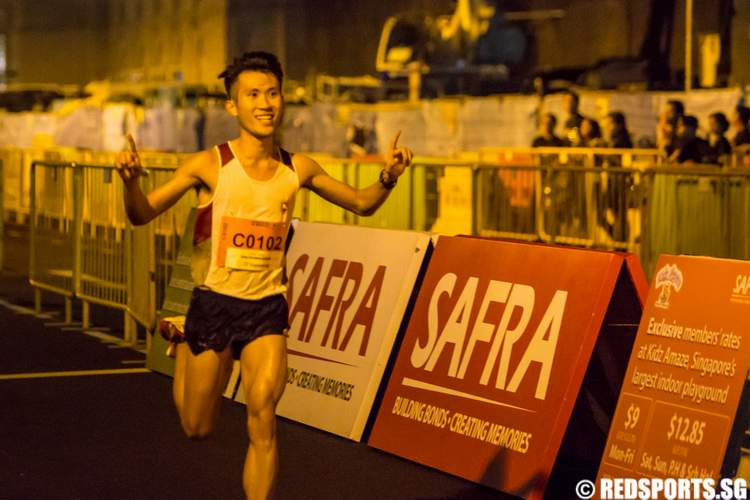 SAFRA Singapore Bay Run & Army Half Marathon 2014 Colin Tung