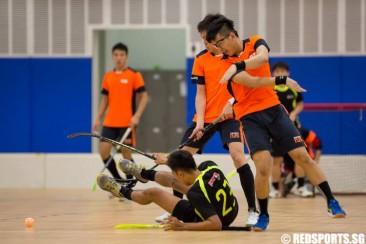 SUniG Floorball: NTU edge out NUS 2–1