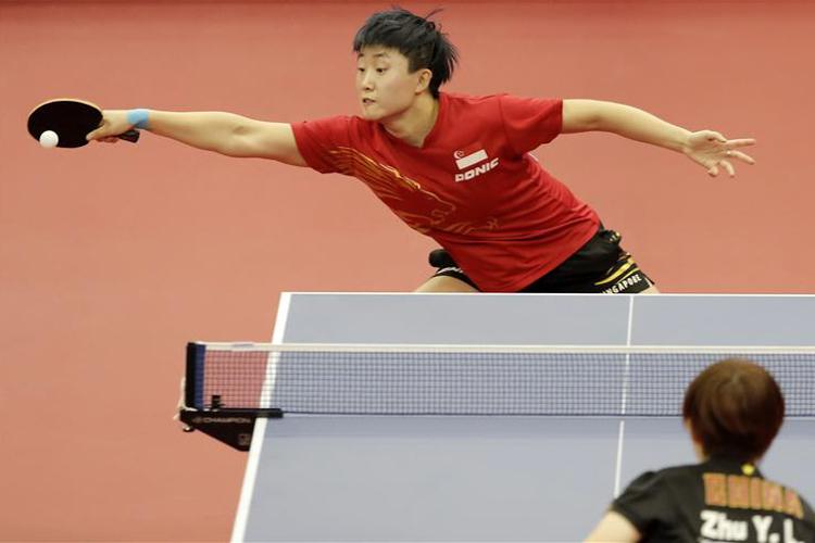 Incheon Asian Games Table Tennis Women's Singles Feng Tianwei
