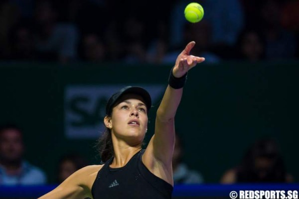 WTA Finals: Serena Williams and Ana Ivanovic serve up show for fans