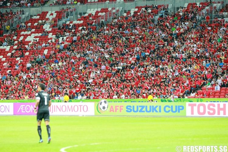 singapore spectators vs thailand suzuki cup