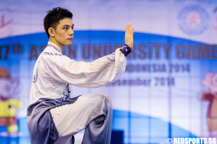 ASEAN University Games Wushu Lee Tze Yuan Taijiquan