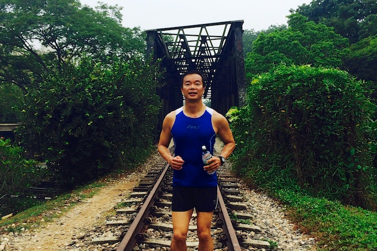 NMP ben tan running at green corridor
