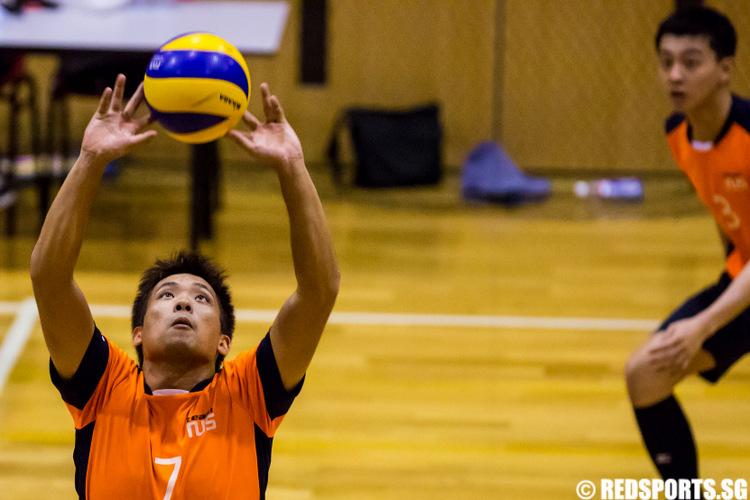 IVP Volleyball Championship National University of Singapore vs Singapore Polytechnic