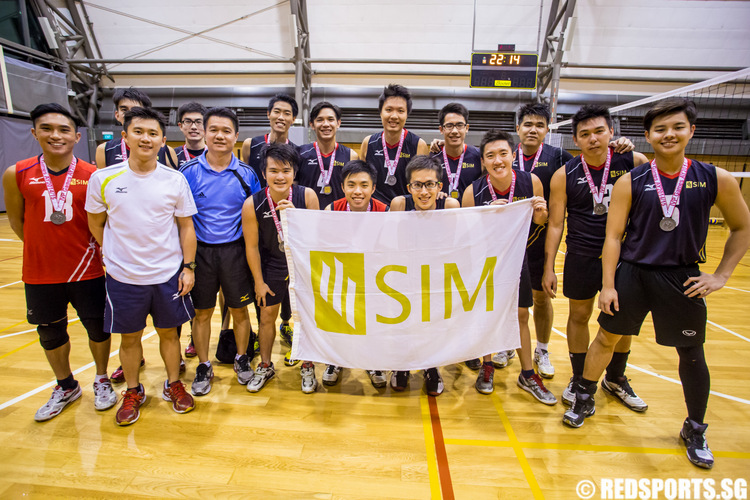 IVP Volleyball Championship Singapore Institute of Management