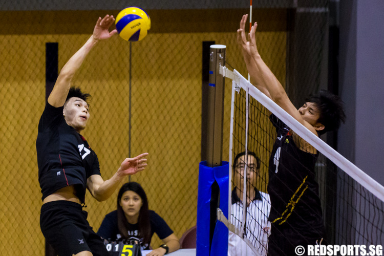 IVP Volleyball Championship Temasek Polytechnic vs Singapore Institute of Management