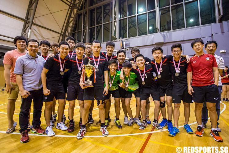 IVP Volleyball Championship Temasek Polytechnic