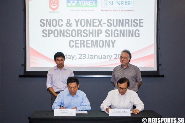 SNOC Yonex Sponsorship
