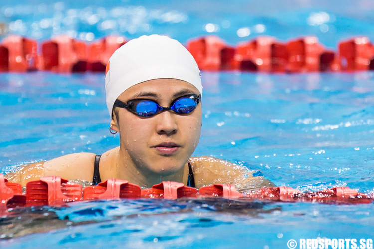 Singapura Finance Snag Swim C Ships Quah Ting Wen Secures Sea Games Spot In 50m Butterfly Red