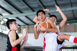 East Zone B Division Basketball Championship Final Dunman Secondary vs Chung Cheng High School (Main)