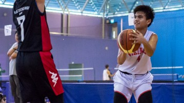National B Division Basketball Championship North Vista Secondary vs Chung Cheng High (Main)