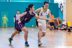 National B Division Basketball Championship Zhonghua Secondary vs Jurong West Secondary