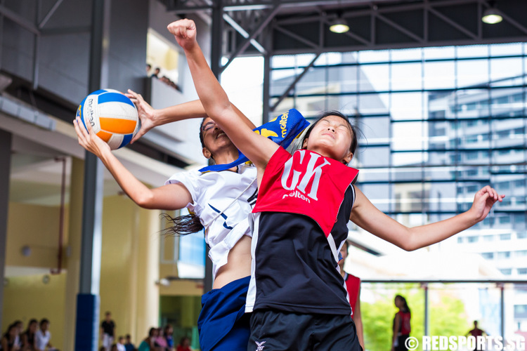 West Zone B Division Netball Championship Methodist Girls' vs Bukit Panjang Government High