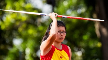 A Division Girls' Javelin