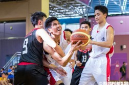 National B Division Basketball Championship Dunman Secondary vs Unity Secondary