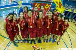 National A Division Girls' Basketball Championship NYJC vs HCI