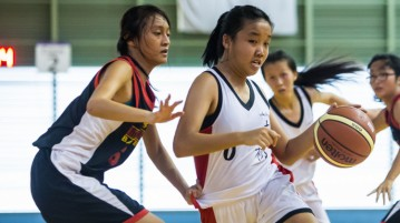 National A Division Girls' Basketball Championship NYJC vs NJC