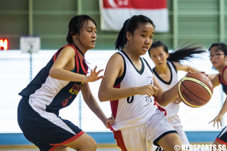 National A Division Girls' Basketball Championship NYJC vs NJC