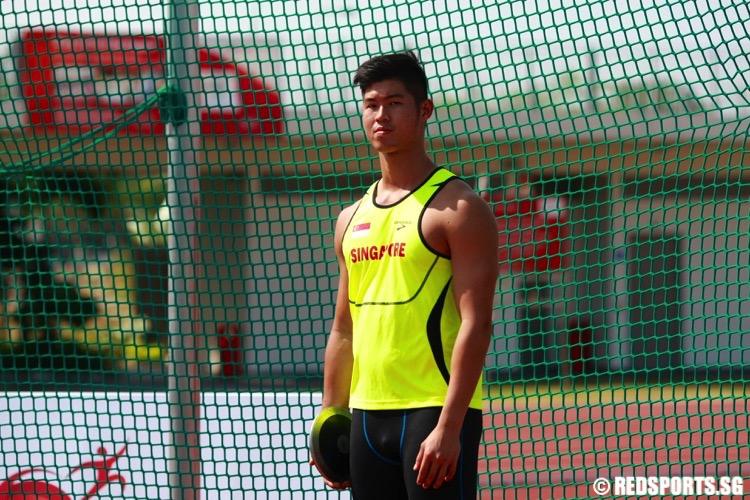 benny lam discus sea games singapore