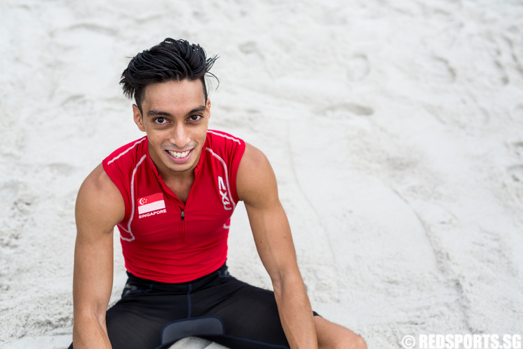 Singapore Athletics Khan Meng Linn