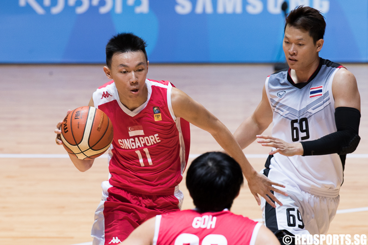 SEA Games Basketball Singapore vs Thailand Bronze Meda