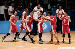 SEA Games Basketball Singapore vs Thailand Bronze Medal
