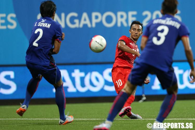 Football: Singapore vs Myanmar   28th SEA Games Singapore 2015