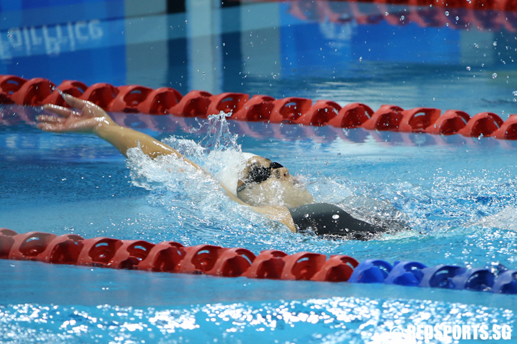 Sea games swimming three gold three games records for singapore on second day red sports for Knights of columbus swimming pool springfield il
