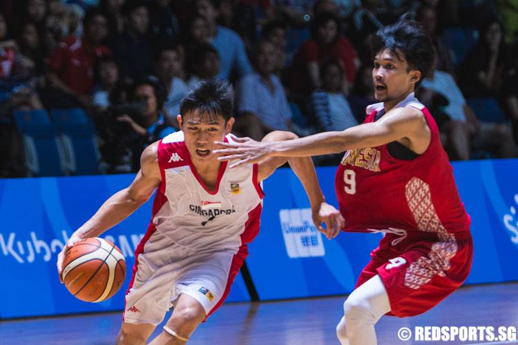 SEA Games Basketball (Men): Singapore fall 74-87 to ...
