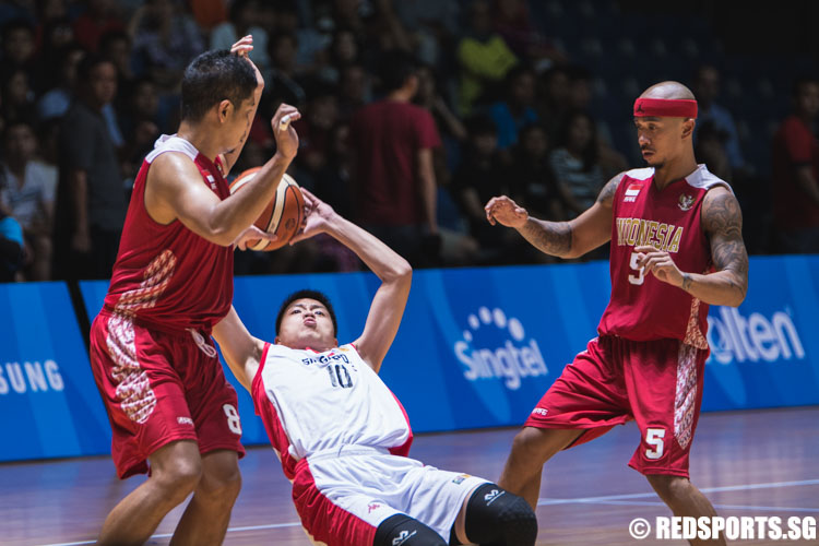 SEA Games Basketball (Men): Singapore fall 74–87 to ...