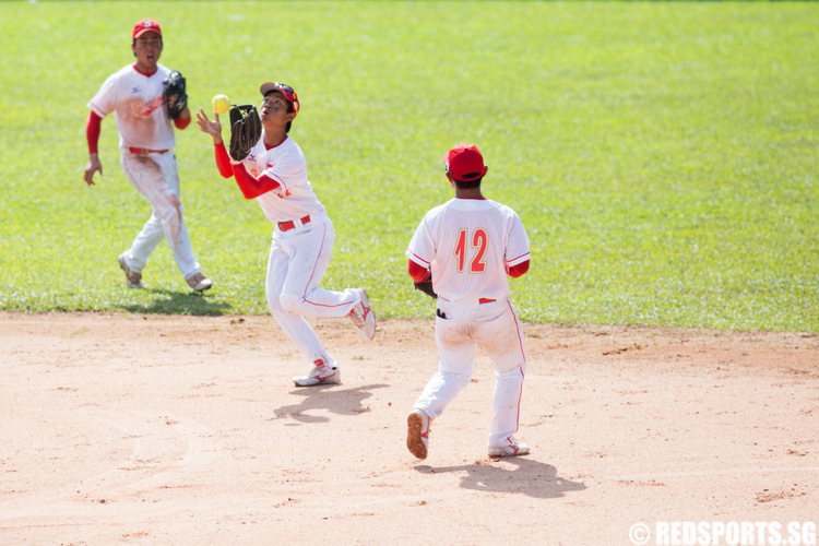 SEA Games Softball Singapore vs Indonesia
