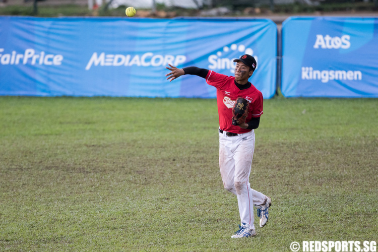SEA Games Softball Mens Singapore vs Philippines Semifinal