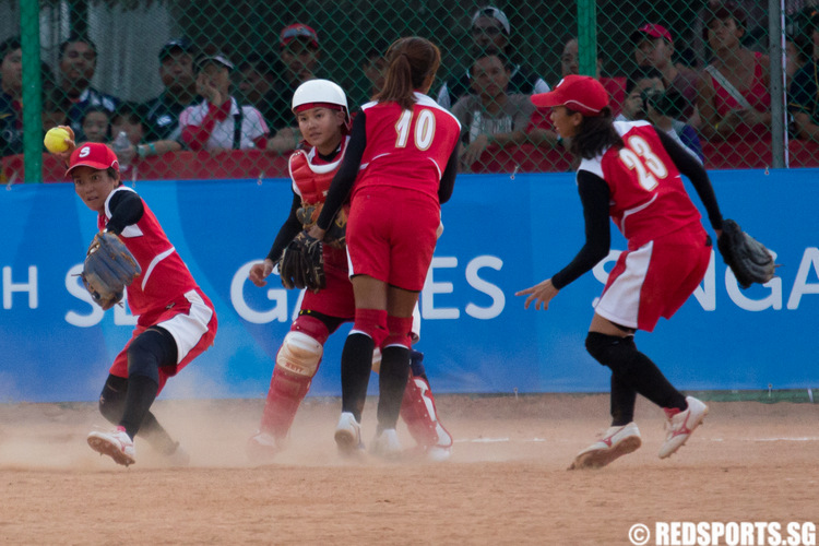 SEA Games Softball Women Singapore vs Philippines