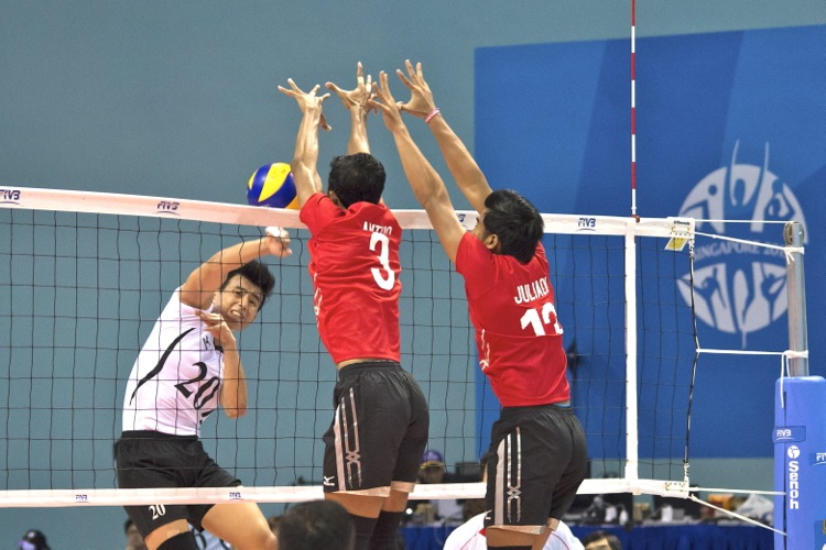 SEA Games Volleyball (Men): Singapore fall 0–3 to ...