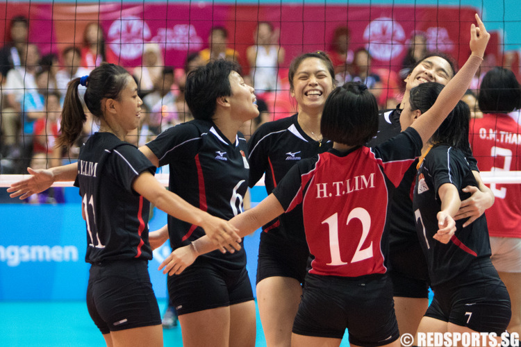 SEA Games Volleyball (Women): Singapore come from behind ...