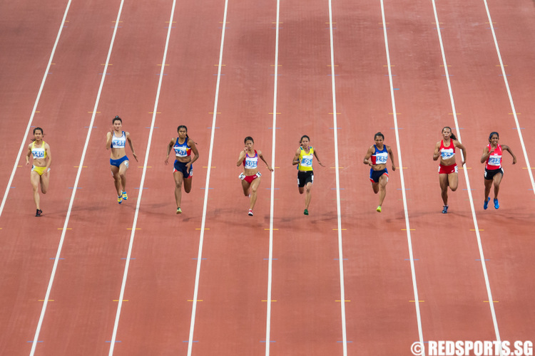 SEA Games athletics 100m