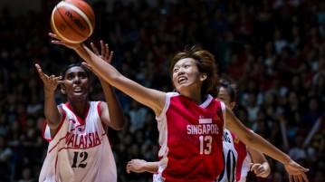 SEA Games basketball singapore vs malaysia