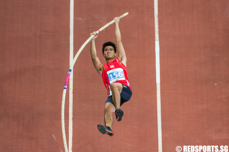 SEA Games athletics pole vault