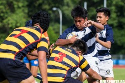 National C Division Rugby Championship St. Andrew's Secondary vs ACS(I)