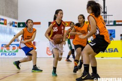 Singapore Youth Olympic Festival basketball
