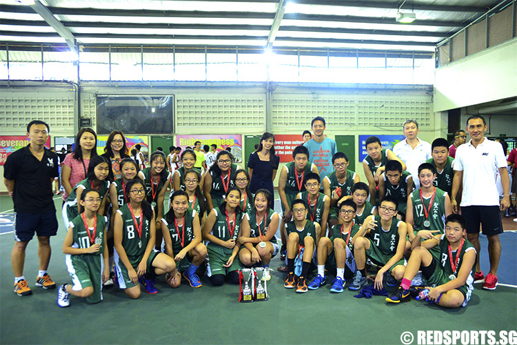 Both Anglican High teams came in second in the East Zone Basketball championship. (Photo 2 © Louisa Goh/Red Sports)