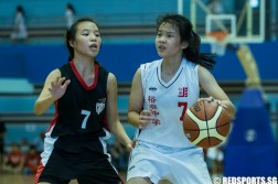 National C Division Girls' Basketball Championship Jurong Secondary vs Nanyang Girls' High