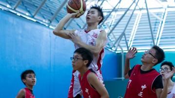 National C Division Basketball Championship Jurong vs Chung Cheng High (Main)