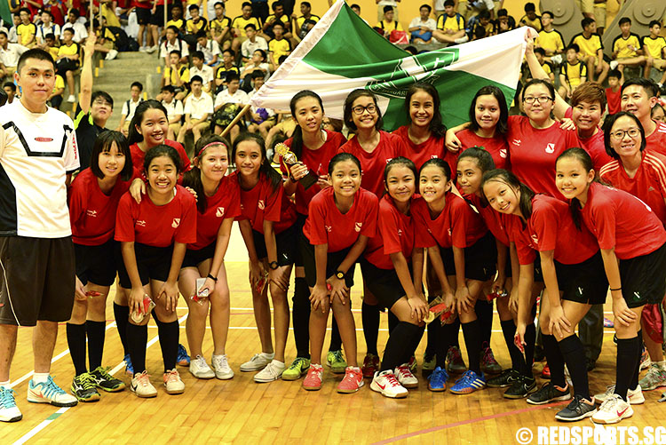 St Margaret's finished second after going down 2-6 to Tanjong Katong in the final. (Photo 8 © Louisa Goh/Red Sports)