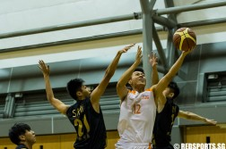 SUniG men's basketball final NUS vs SIM