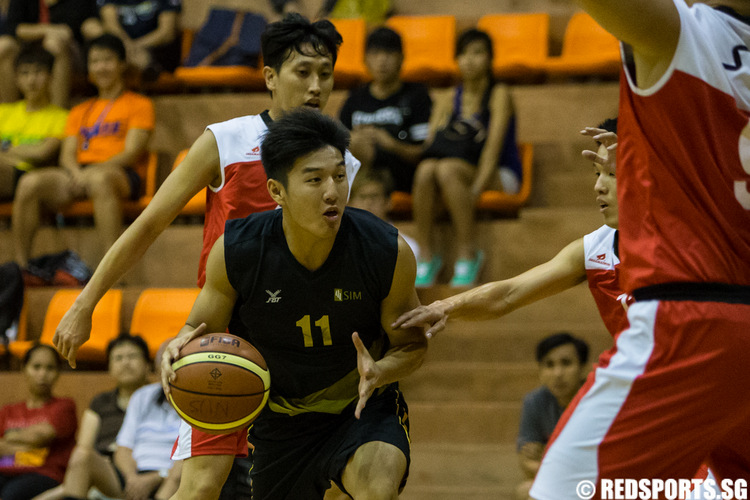 SUniG men's basketball SIT vs SIM